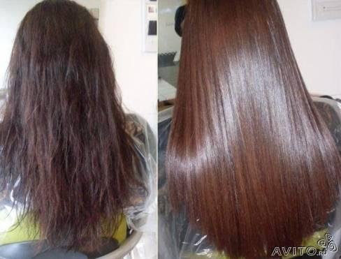 Антихимия волос